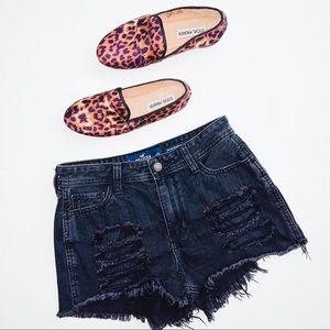 Hollister | High Rise Boyfriend Shorts